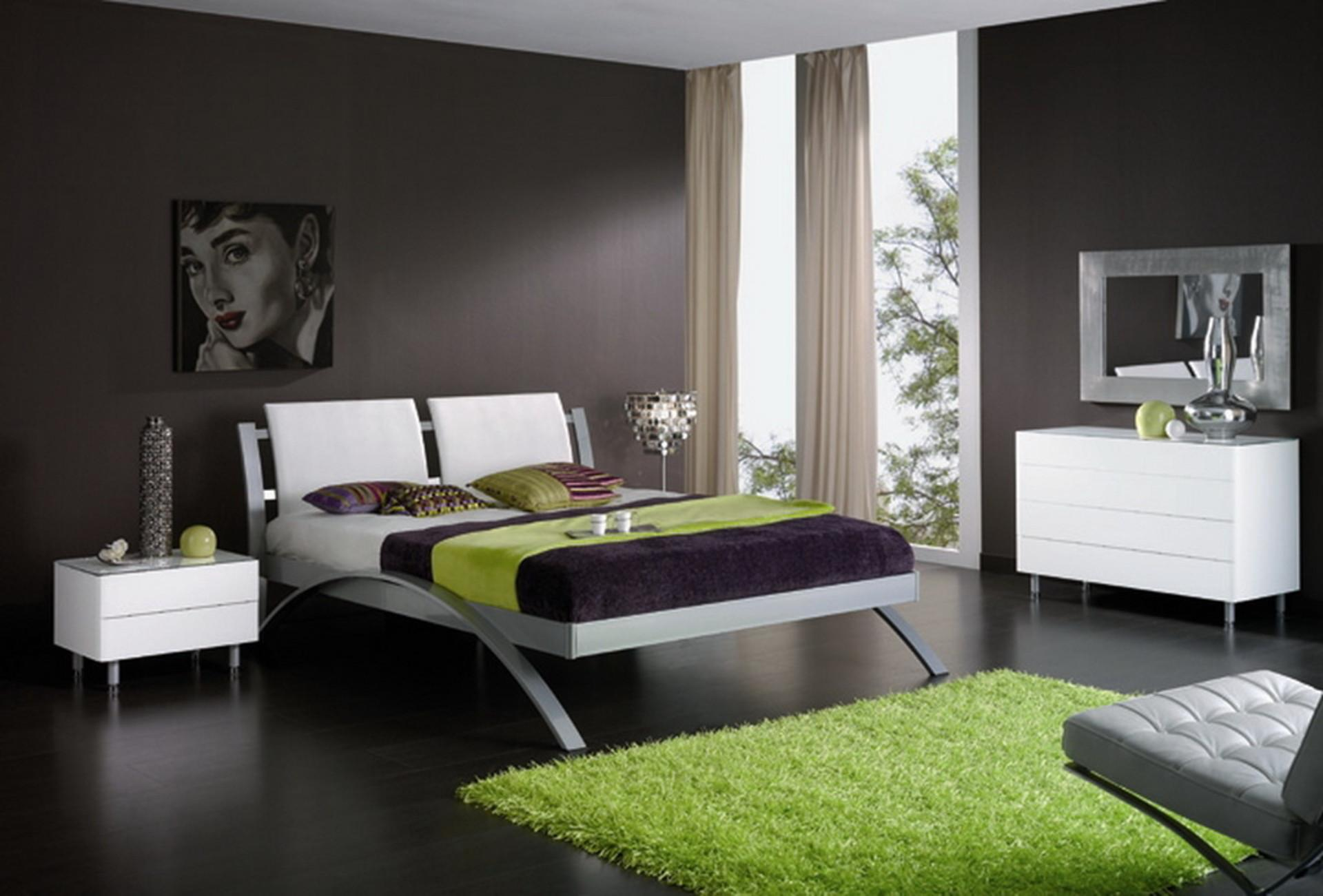 Bedroom Wall Colors Eas Attracting Modern Color Schemes