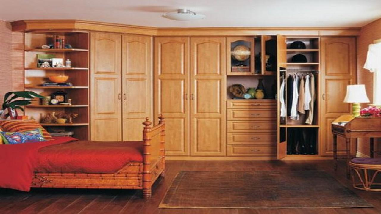 Bedroom Wall Storage Cabinets Units