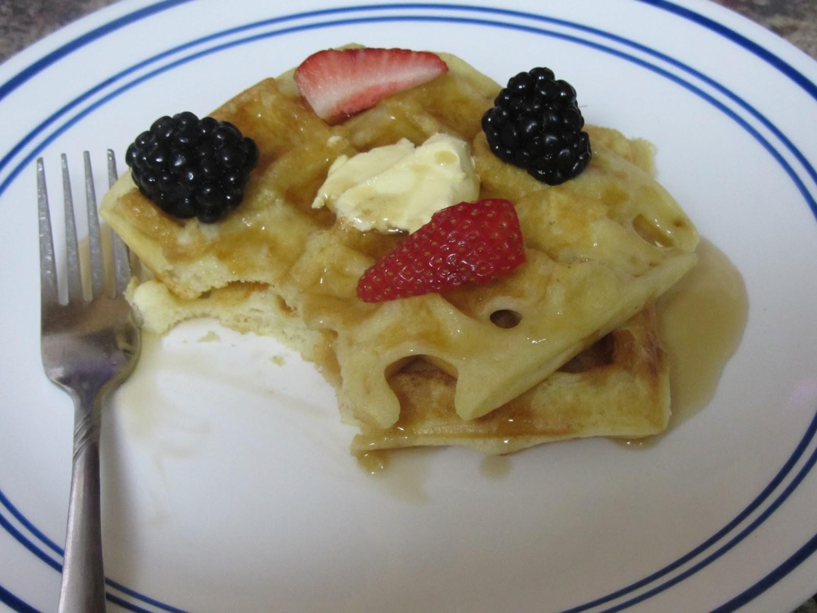 Been There Baked Easy Homemade Waffles