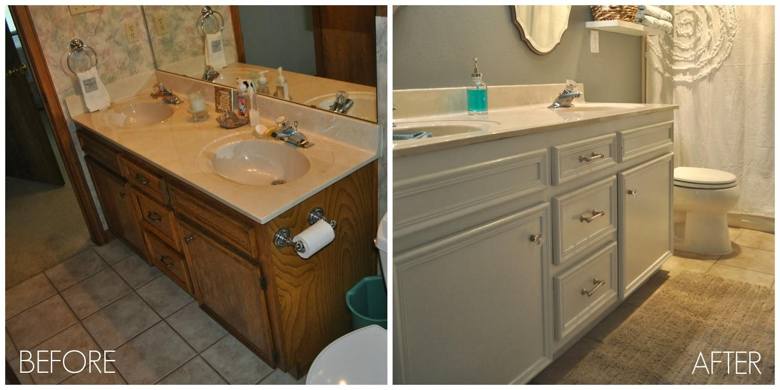 Before After Guest Bathroom Jesse Coulter