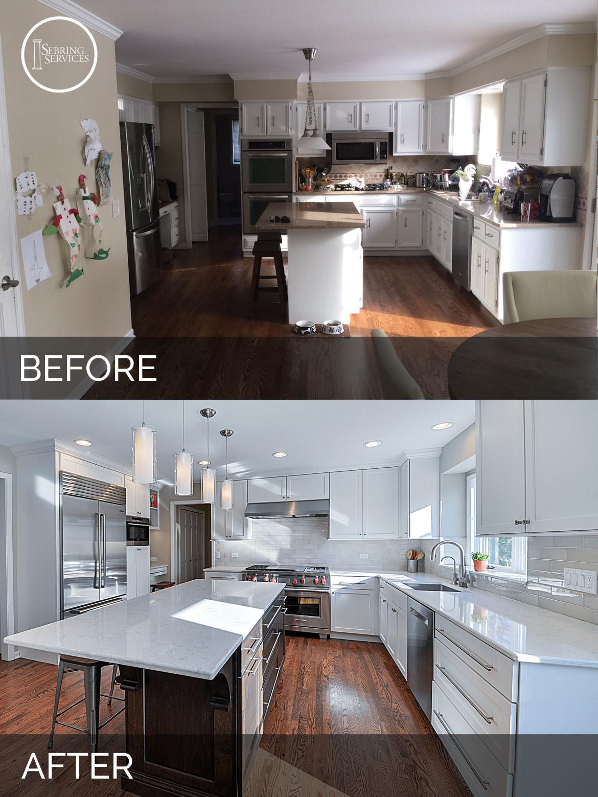 Before After Kitchen Remodeling Sebring
