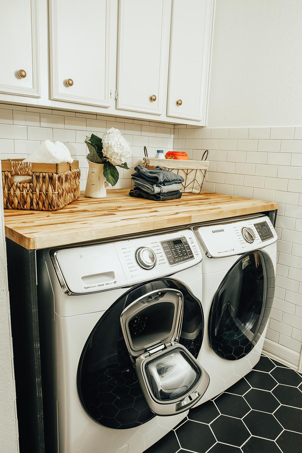 Before After Our Laundry Room Reveal Livvyland