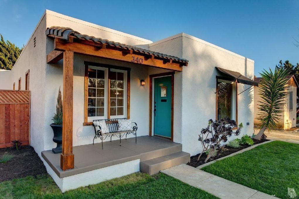 Before After Sweet Spanish Bungalow Beach