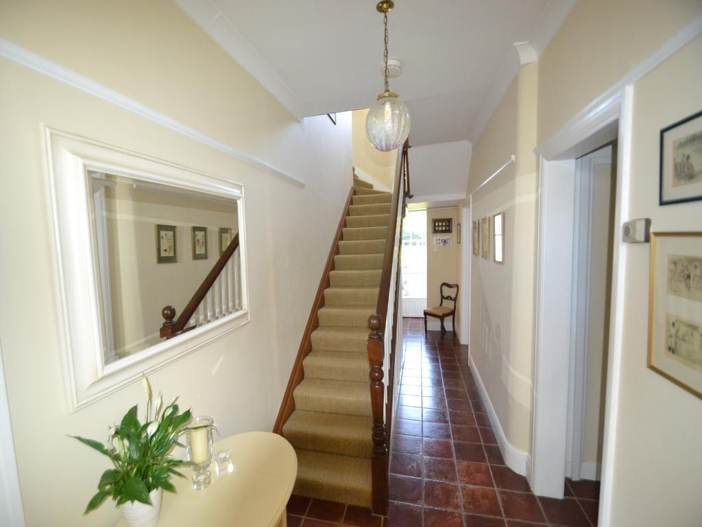 Beige Cream Entrance Hall Design Ideas Photos