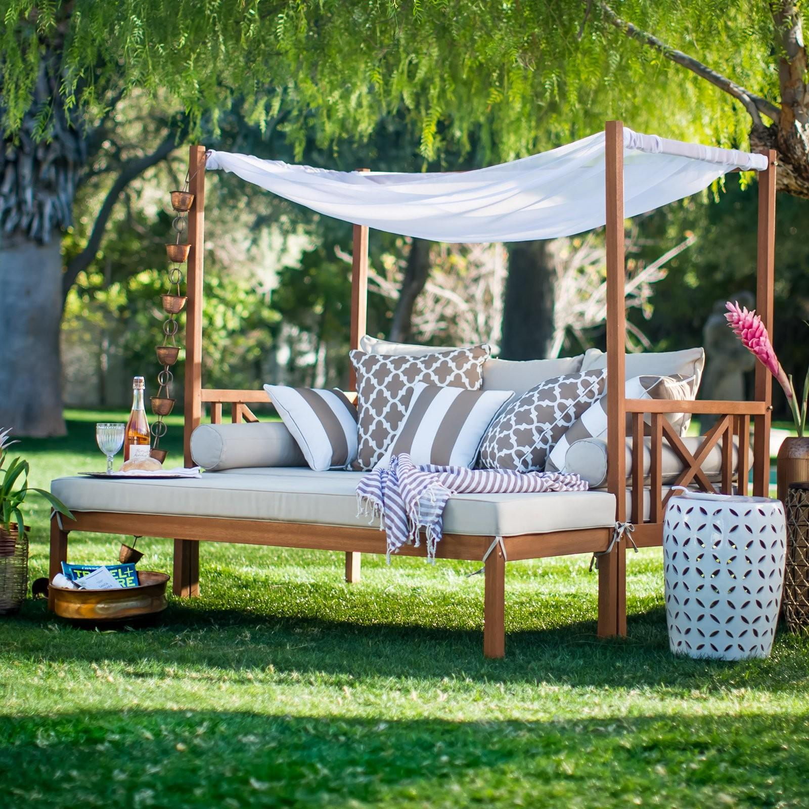 Belham Living Brighton Outdoor Daybed Ottoman