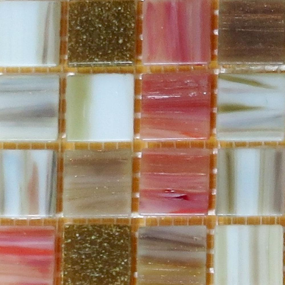 Bellaterra Home Glass Mosaic Tile
