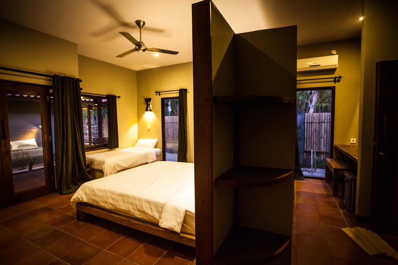 Belukar Luxury Holiday Villa Resort Hotel Rooms