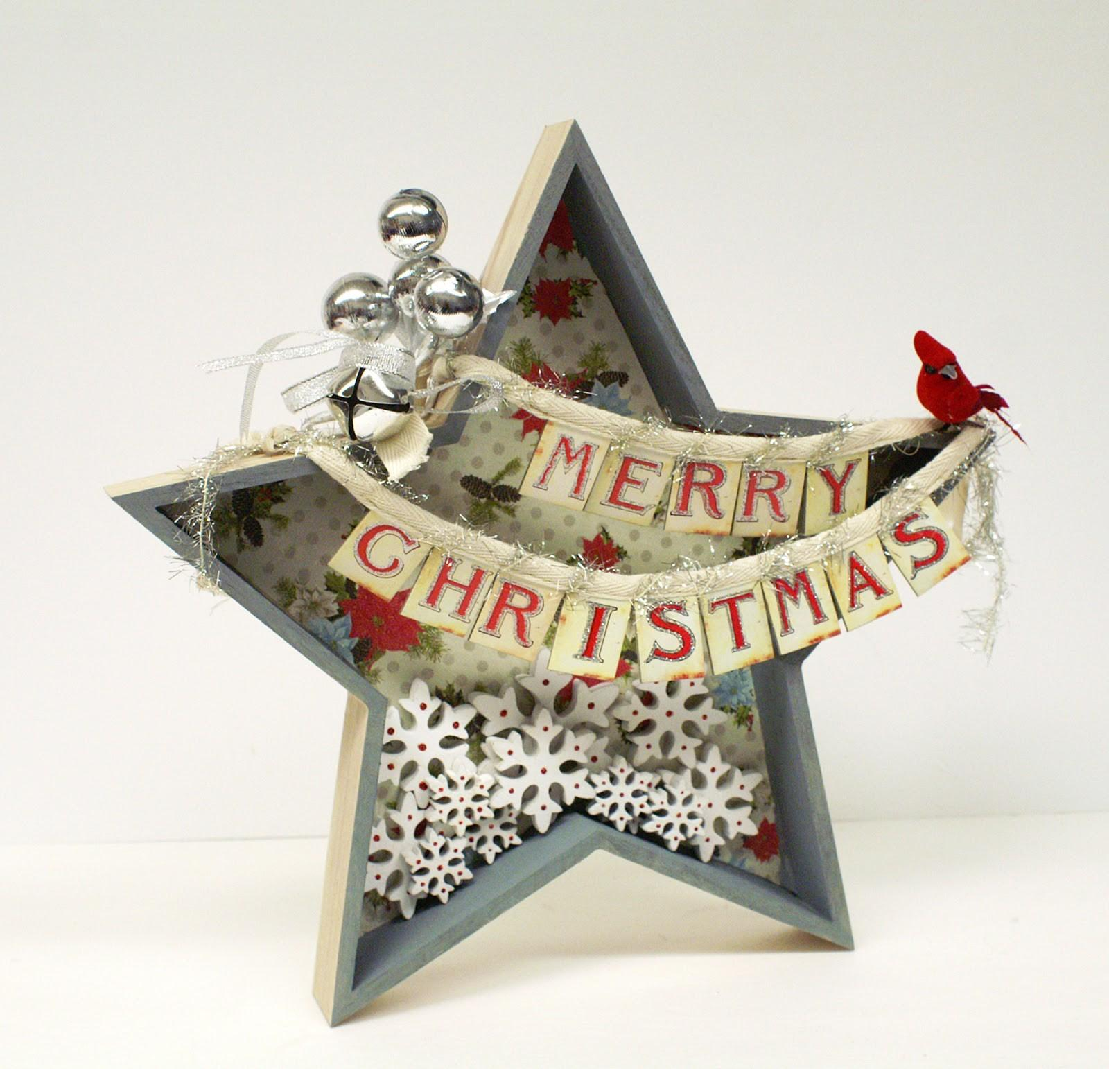 Ben Franklin Crafts Frame Shop Diy Christmas Star Decor