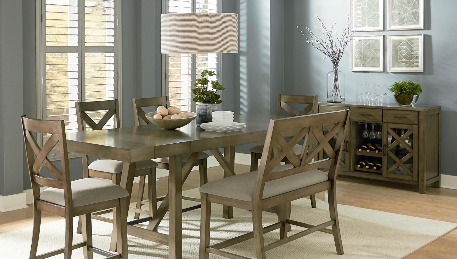 Bench Amazing Standard Height Dining Room Table