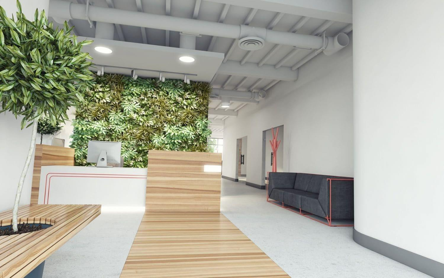 Benefits Eco Friendly Office Interior Design Rap
