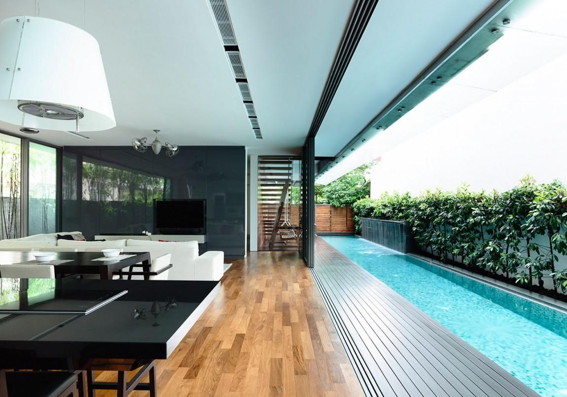 Benefits Lap Pools Their Distinctive Designs
