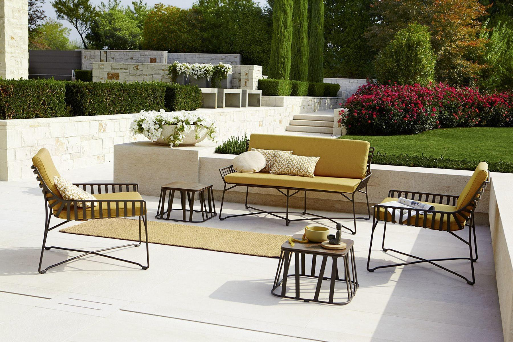 Benign Outdoor Chair Couches Modern Geo