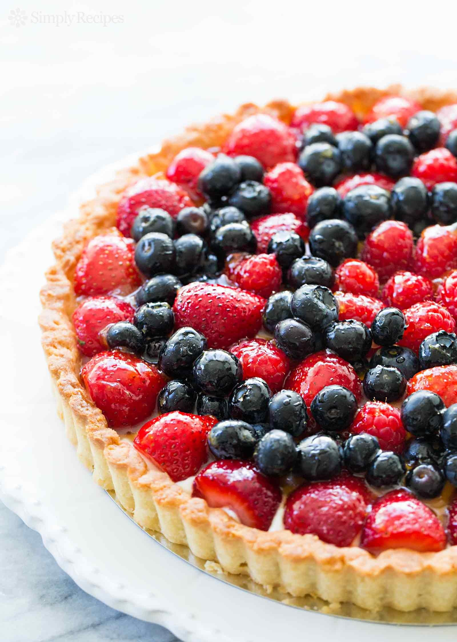 Berry Tart Recipe Simplyrecipes