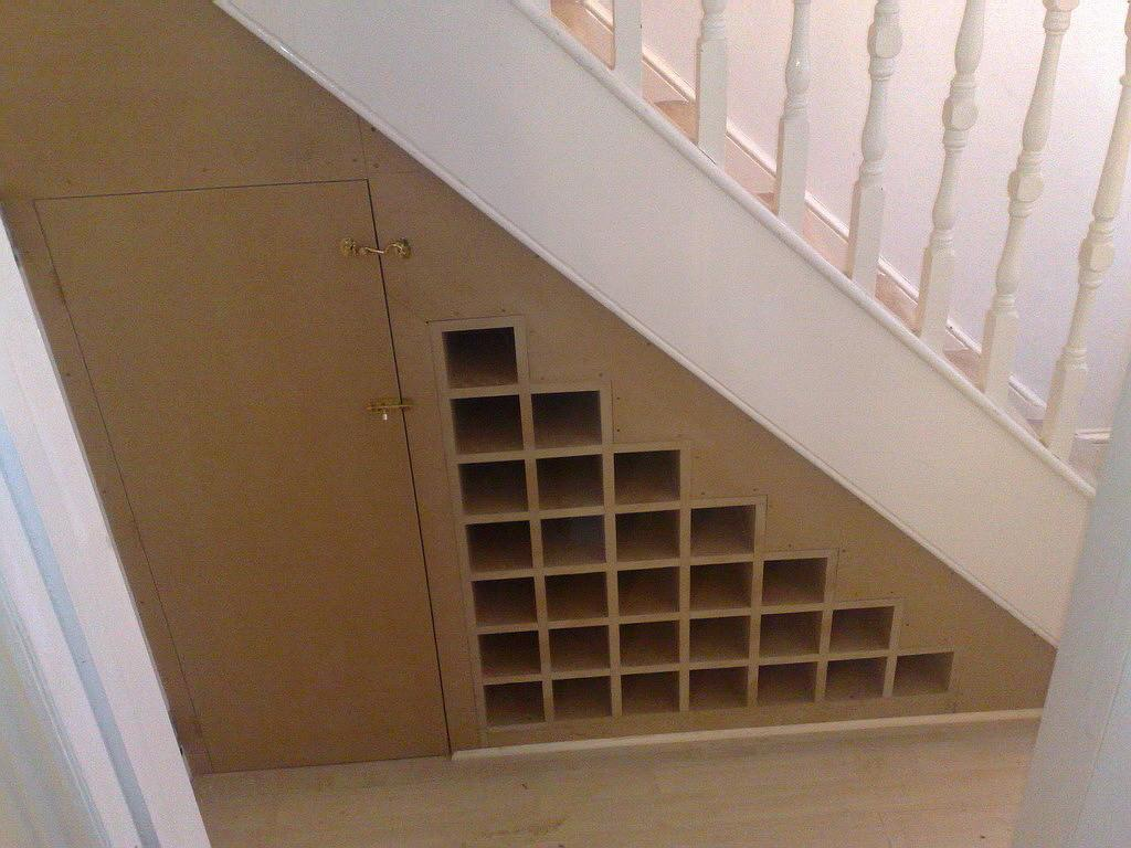 Bespoke Cupboards Under Stairs