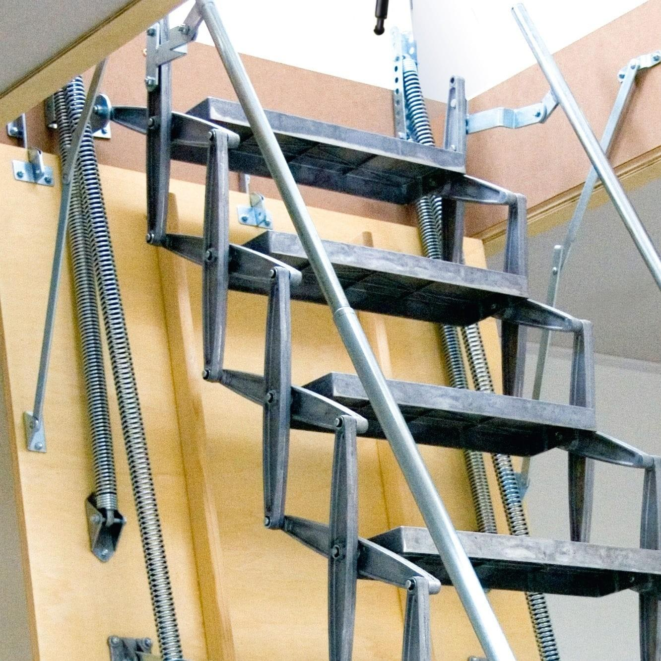 Best Attic Ladder Good Ideas Stairs Home