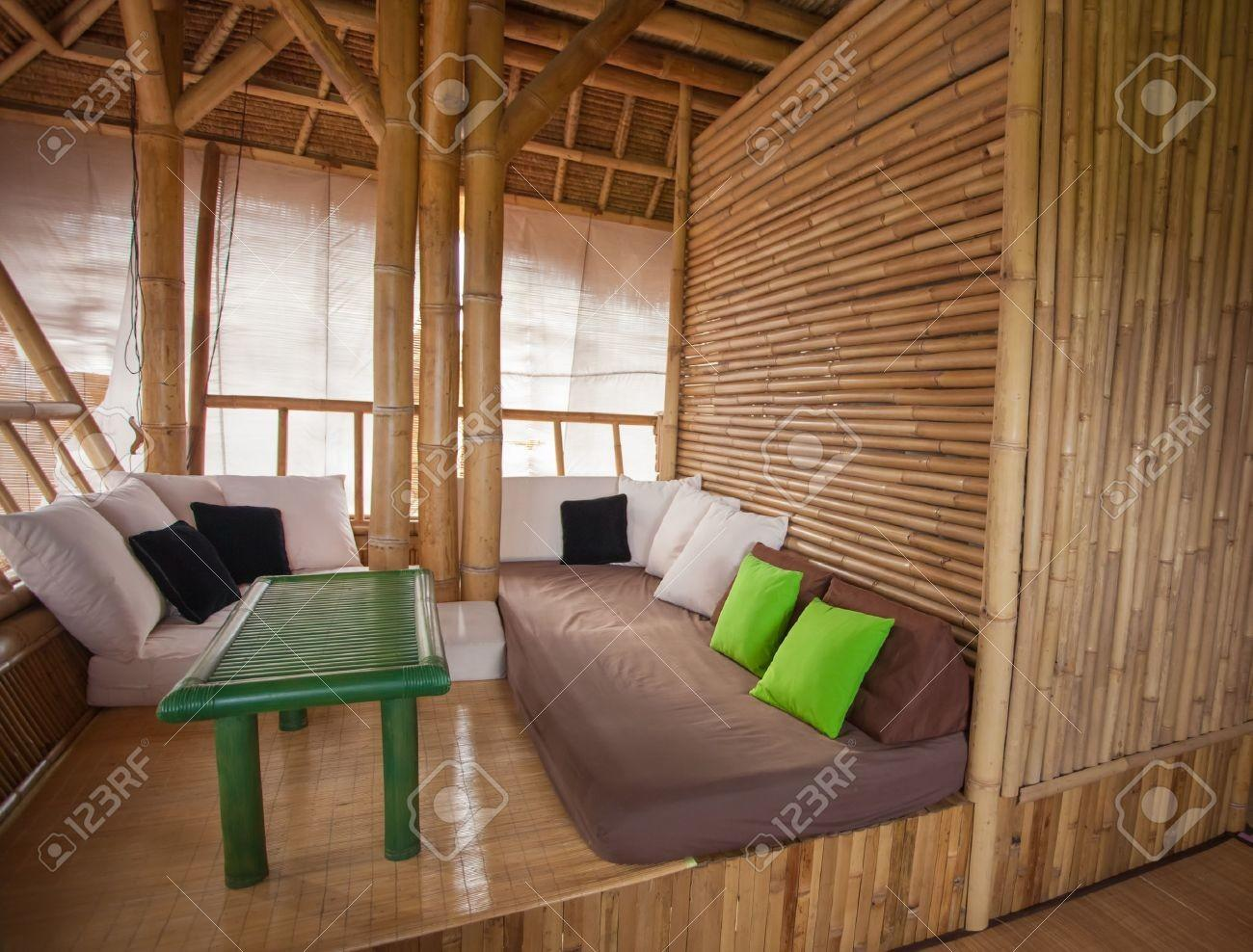 Best Bamboo House Decorating Design