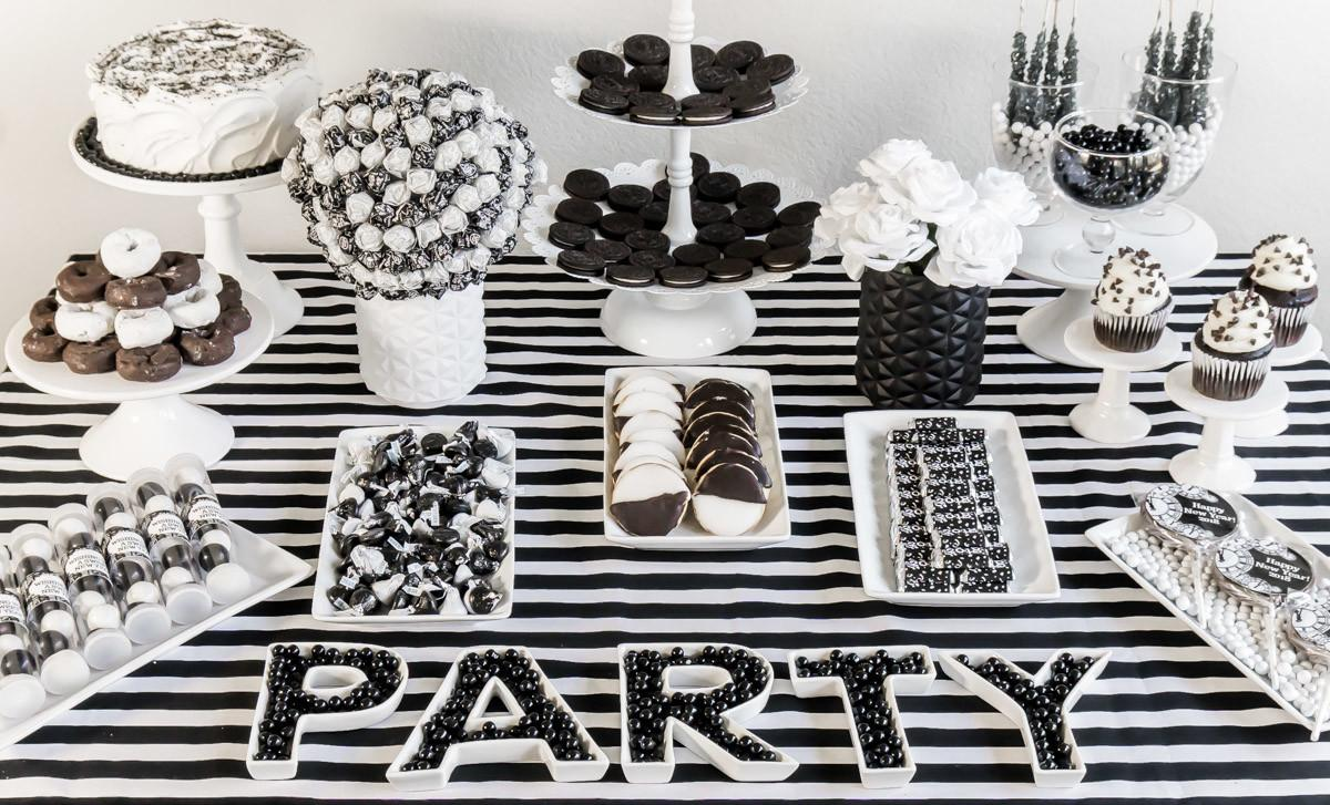 Best Black White Party Ideas New Year Play