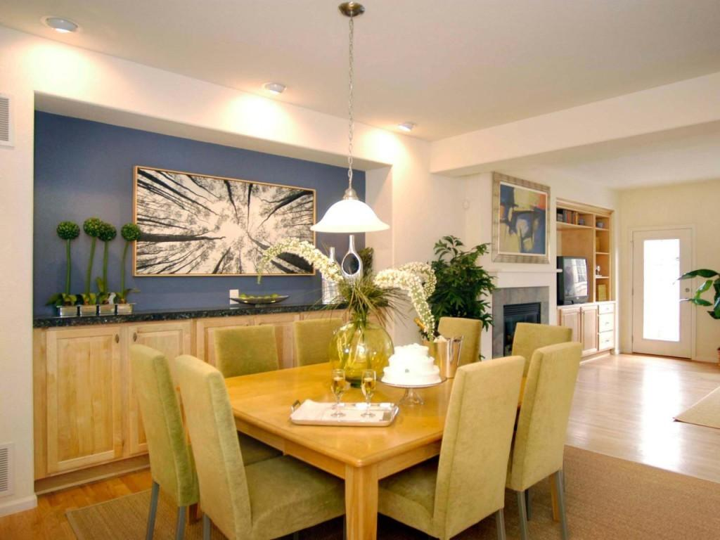 Best Blue Dining Room Accent Wall Decorate