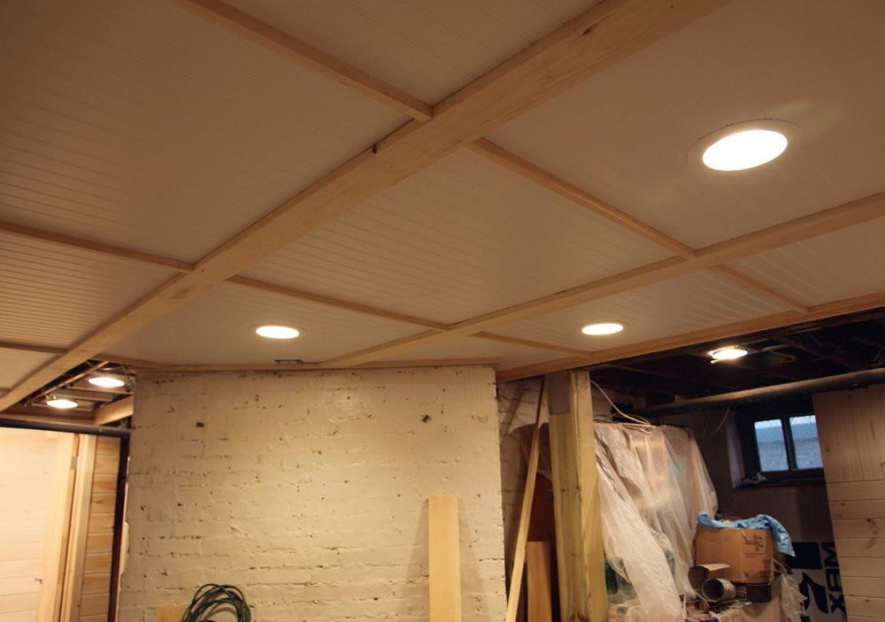 Best Cheap Basement Ceiling Ideas Jeffsbakery