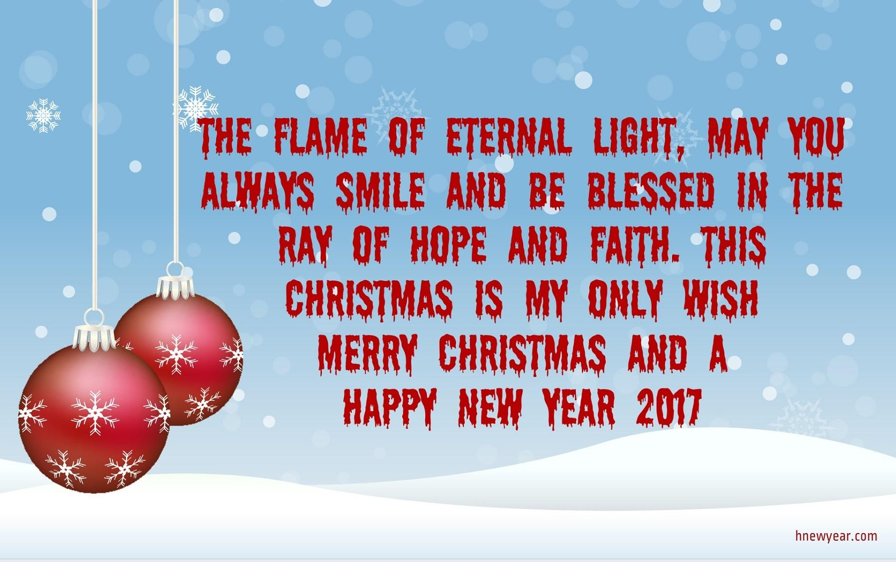 Best Christmas Wishes Merry Happy New