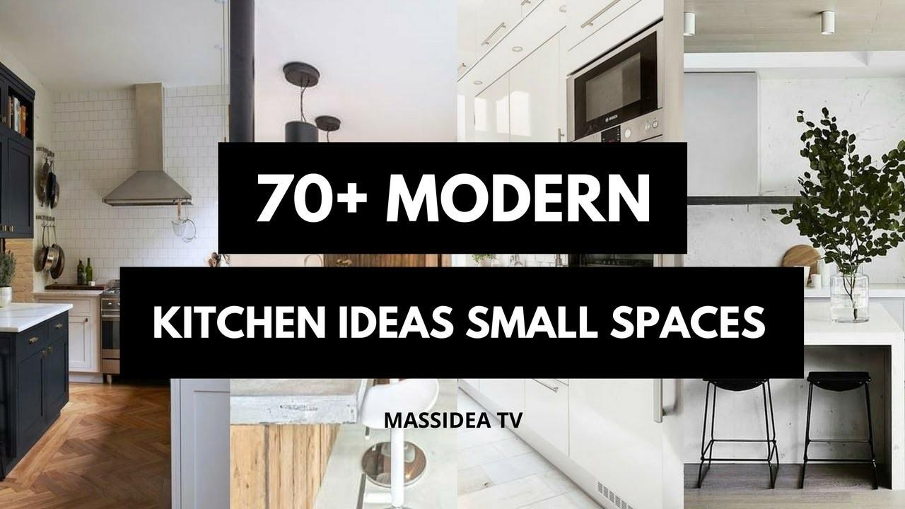 Best Clean Modern Kitchen Ideas Small Spaces 2018