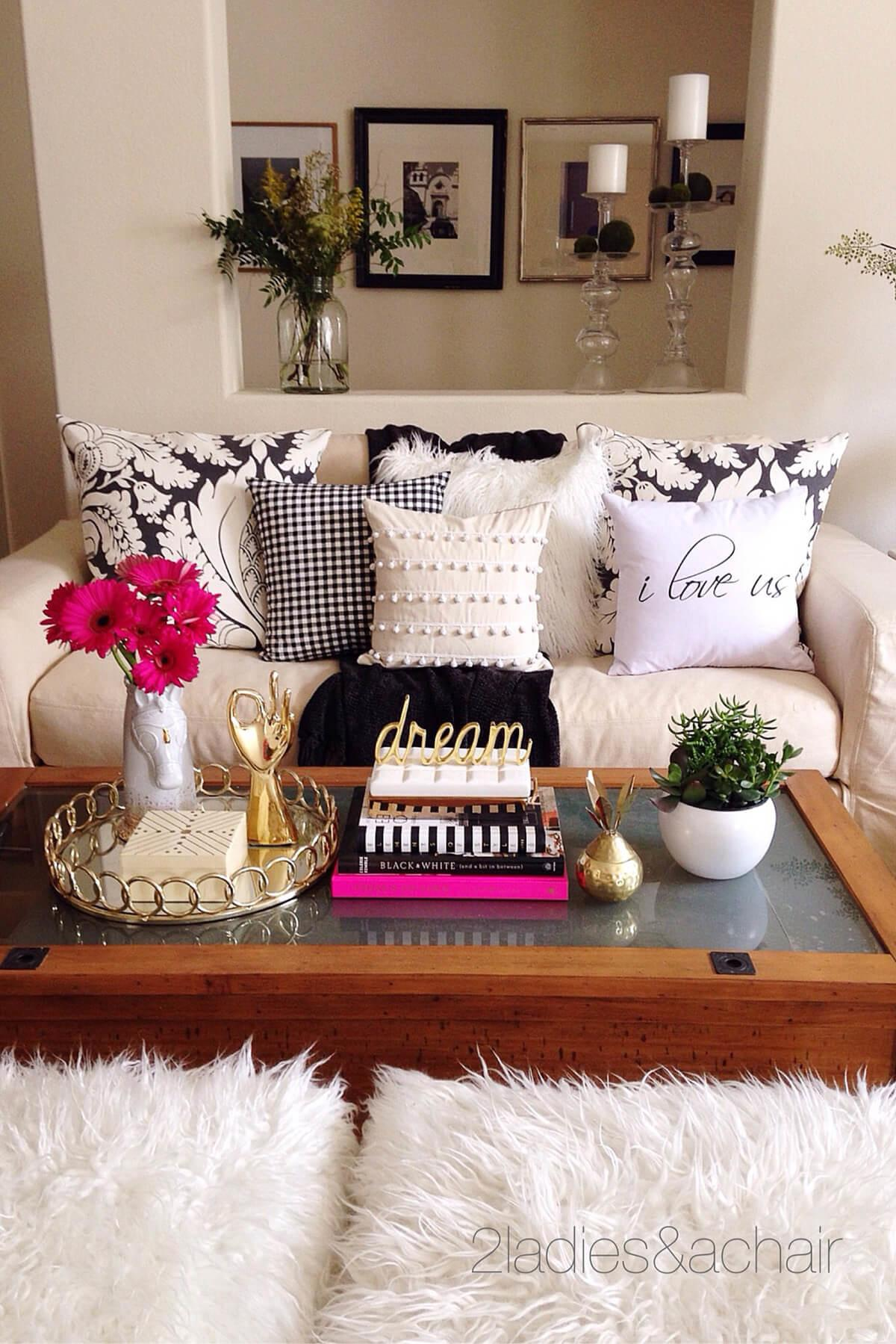 Best Coffee Table Decorating Ideas Designs 2018