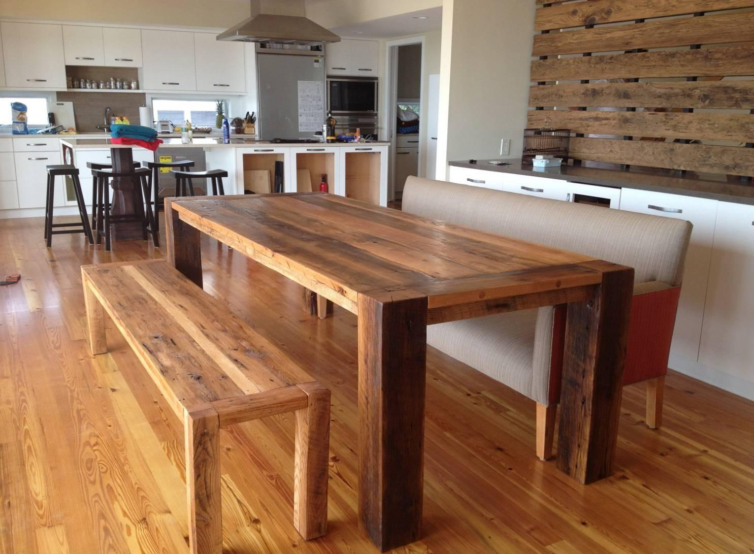 Best Collection Reclaimed Wood Dining Table