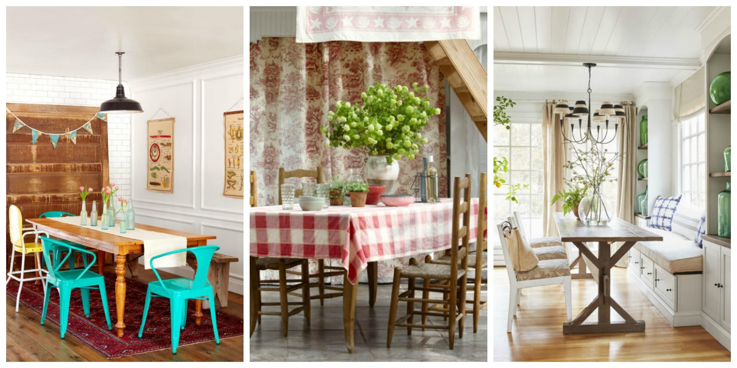 Best Dining Room Decorating Ideas Country