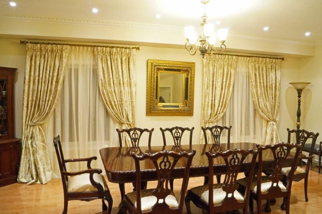 Best Dining Room Window Treatments Design Home Ideas