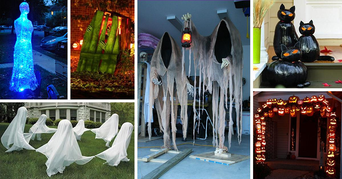 Best Diy Halloween Outdoor Decorations 2018