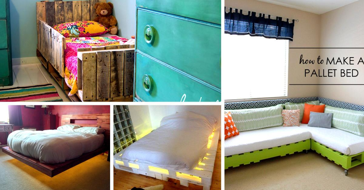Best Diy Pallet Bed Projects Pretty Enough Take Your