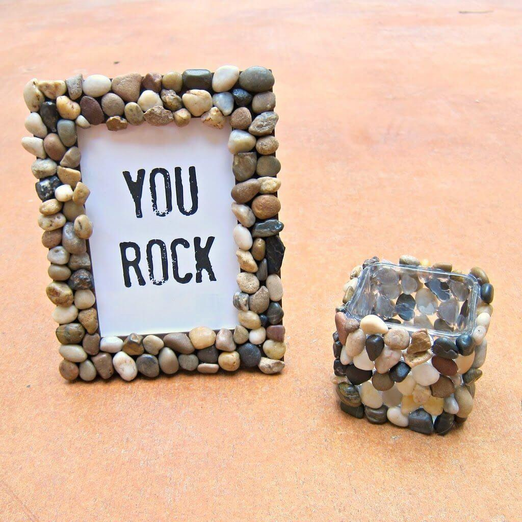 Best Diy Pebble River Rock Decor Ideas Designs