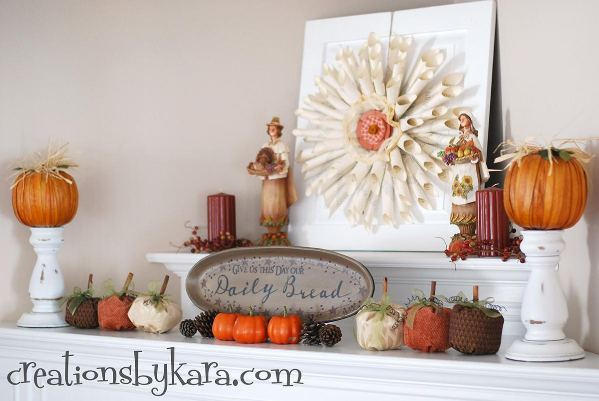 Best Fall Mantel Decorating Ideas Designs 2018