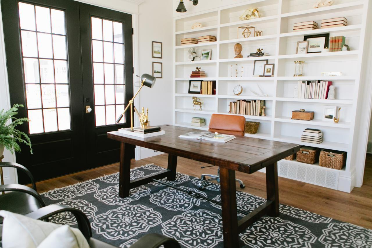 Best Farmhouse Home Office Design Ideas