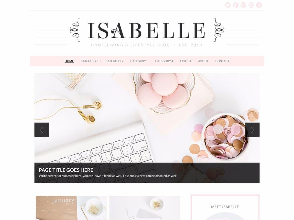 Best Feminine Wordpress Themes 2018 Athemes