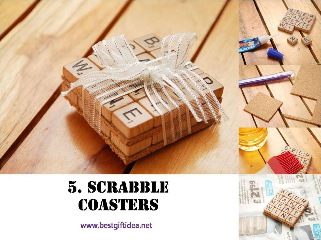 Best Gift Idea Diy Scrabble Gifts Think Out