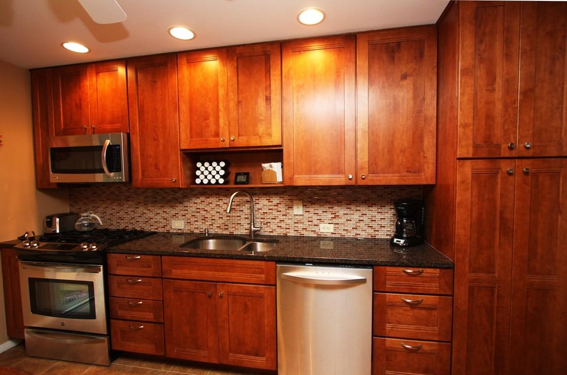 Best Granite Color Light Maple Cabinets American Hwy