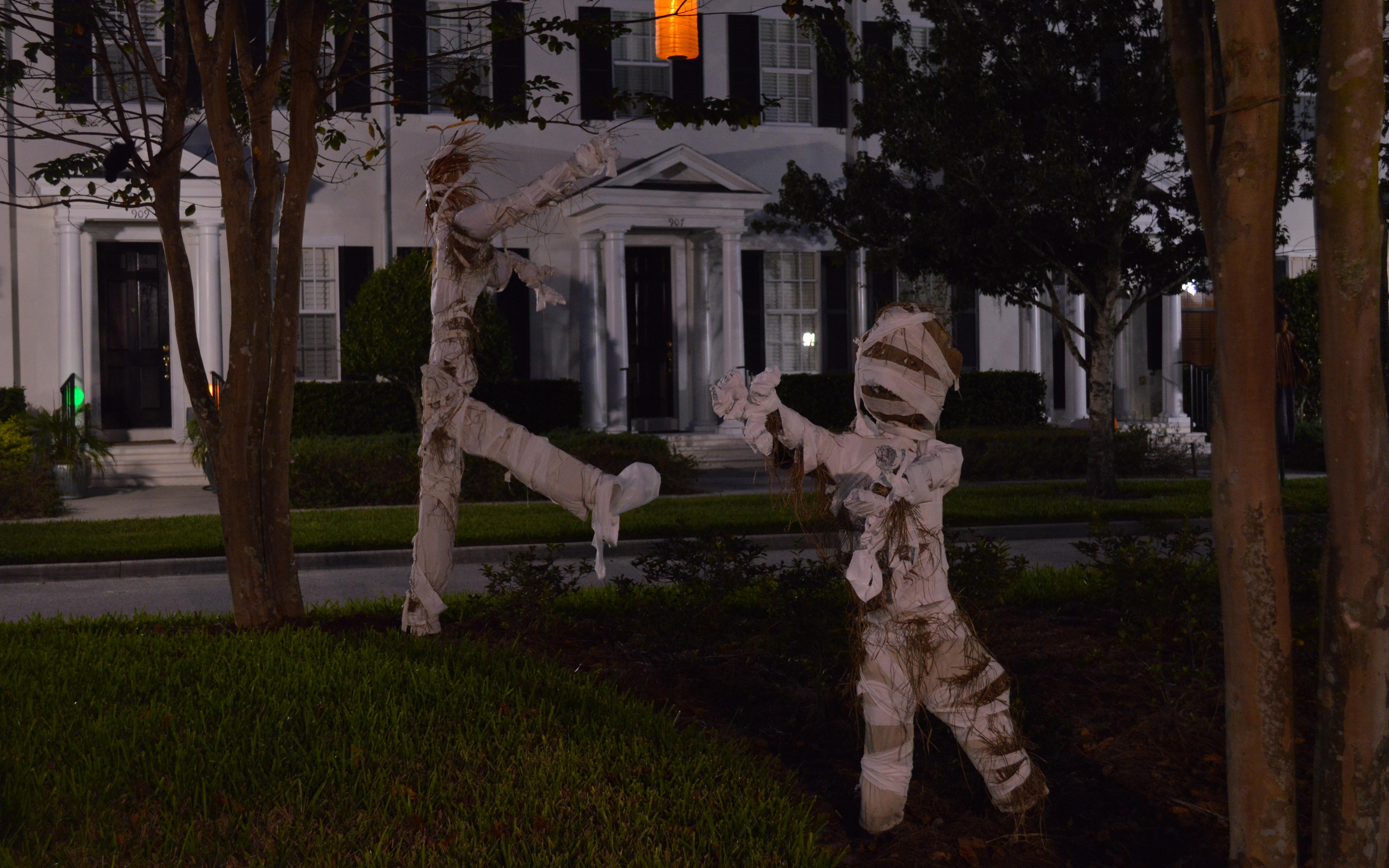 Best Halloween Decorated Houses Cbs Houston