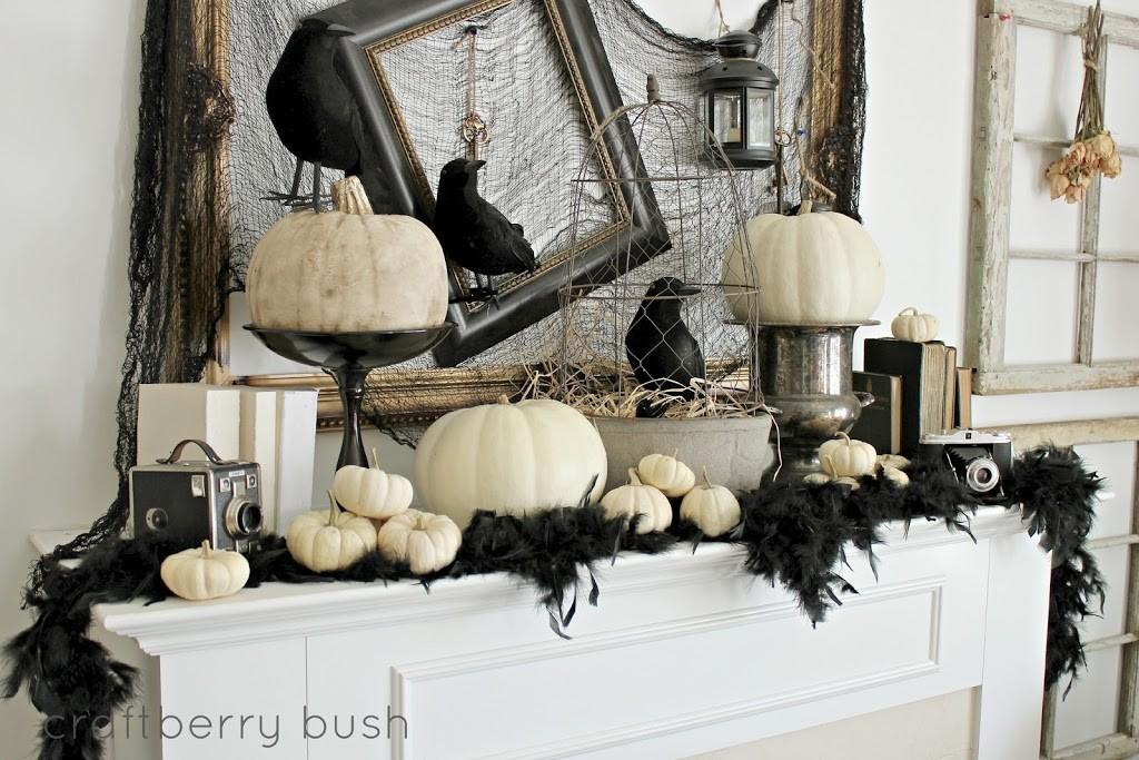 Best Halloween Mantle Decor Ideas Our Thrifty