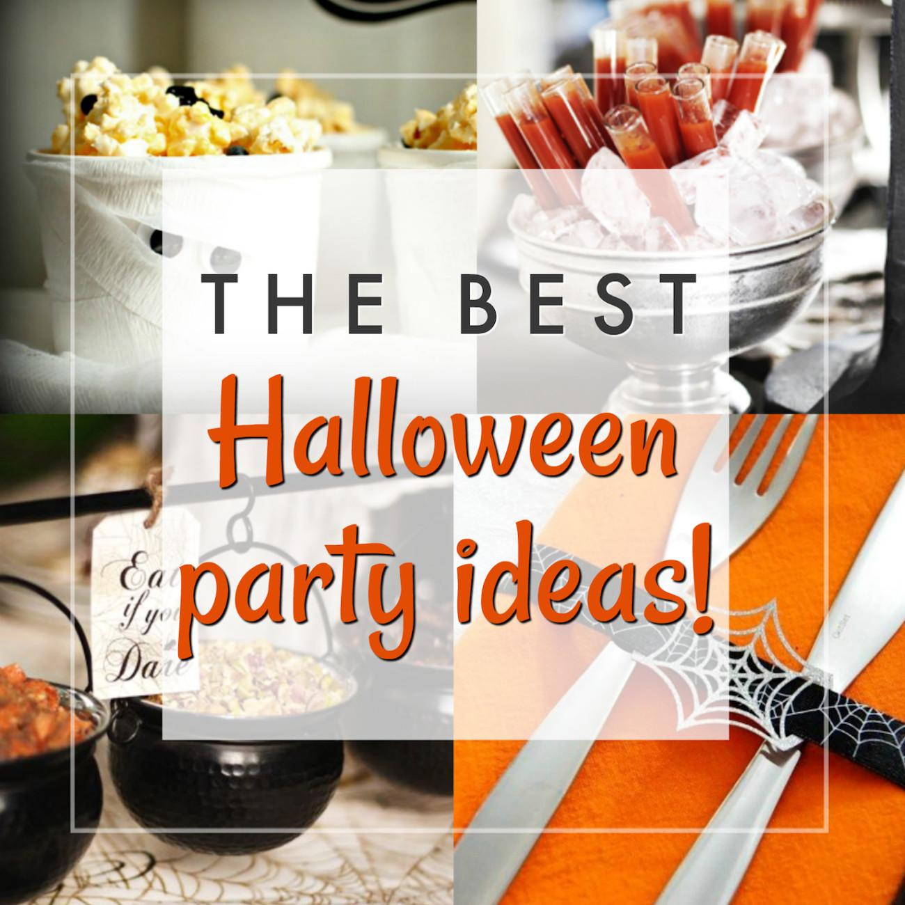 Best Halloween Party Ideas All Ages