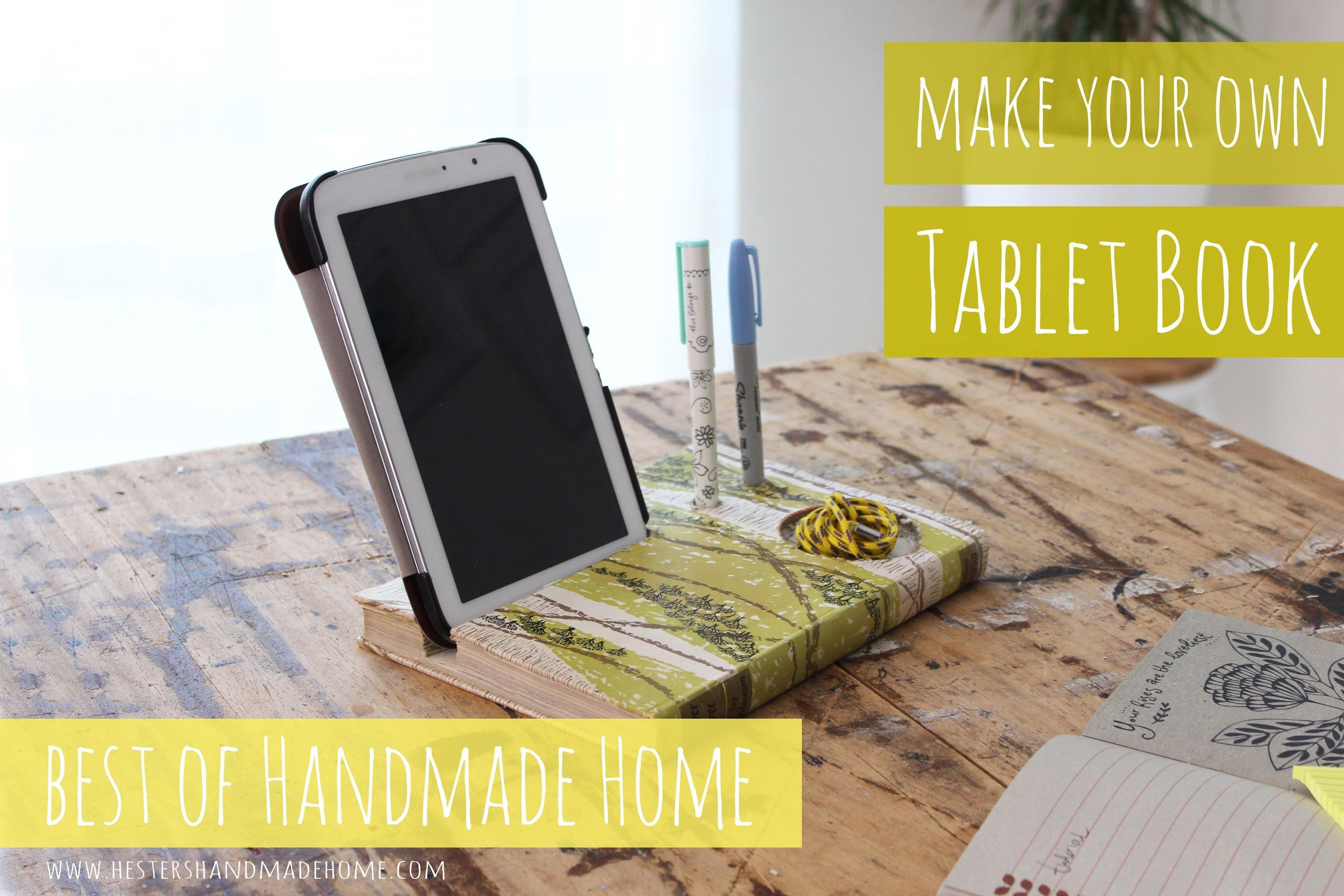 Best Handmade Home Make Your Own Tablet Book Stand