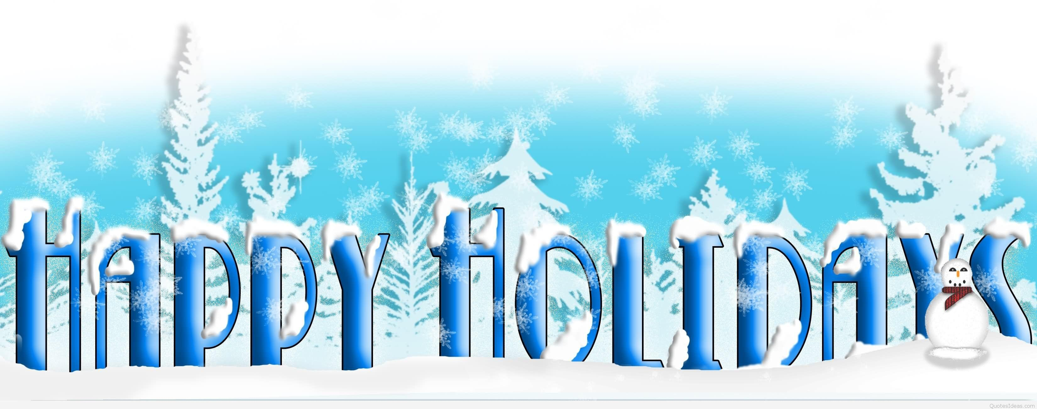 Best Happy Winter Holidays Merry Christmas Wishes