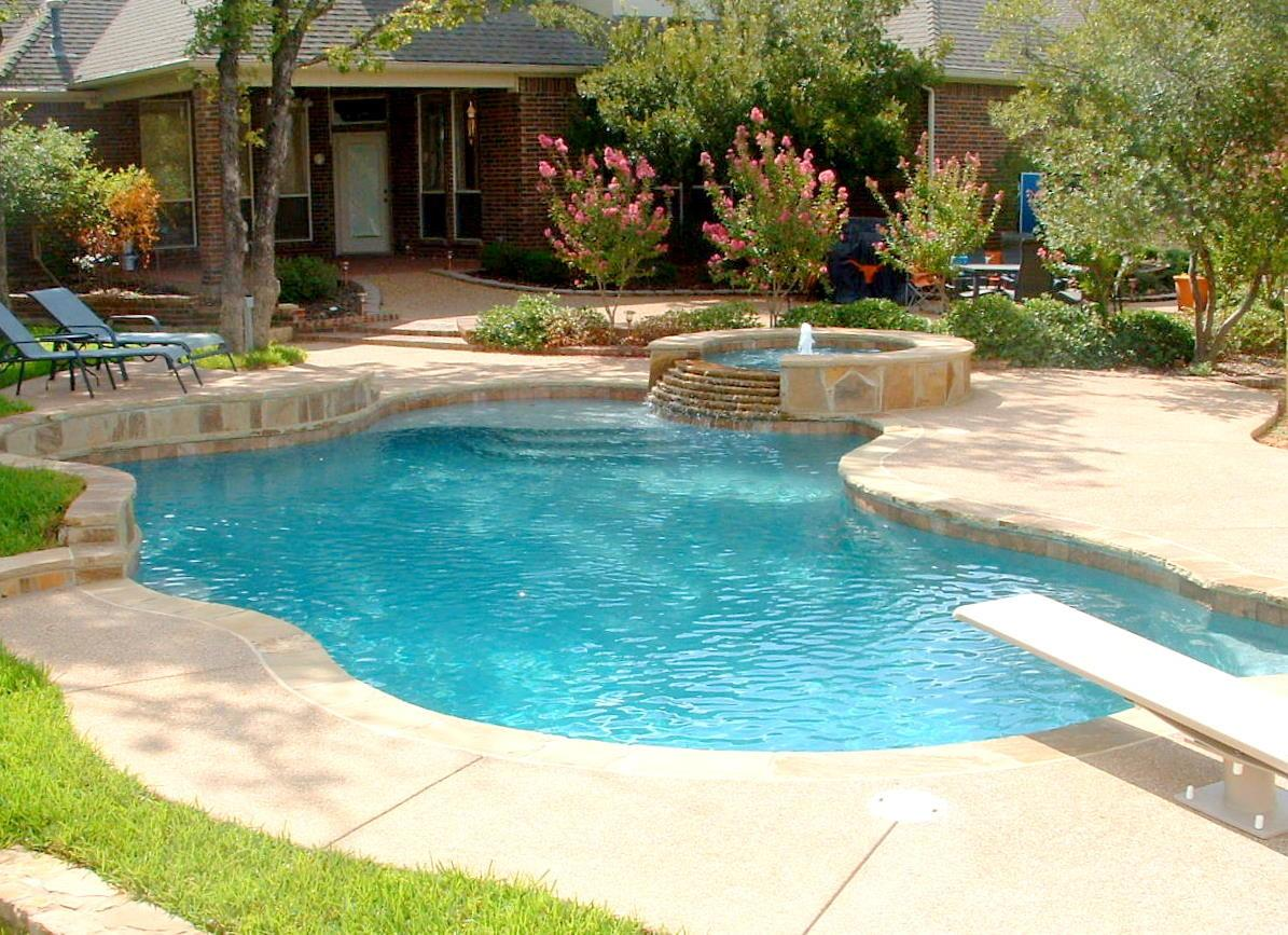 Best Ideas Backyard Pool Landscaping Including