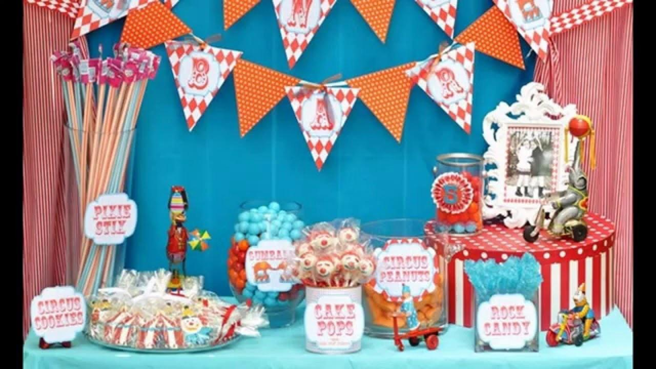 Best Ideas Carnival Birthday Party Decoration