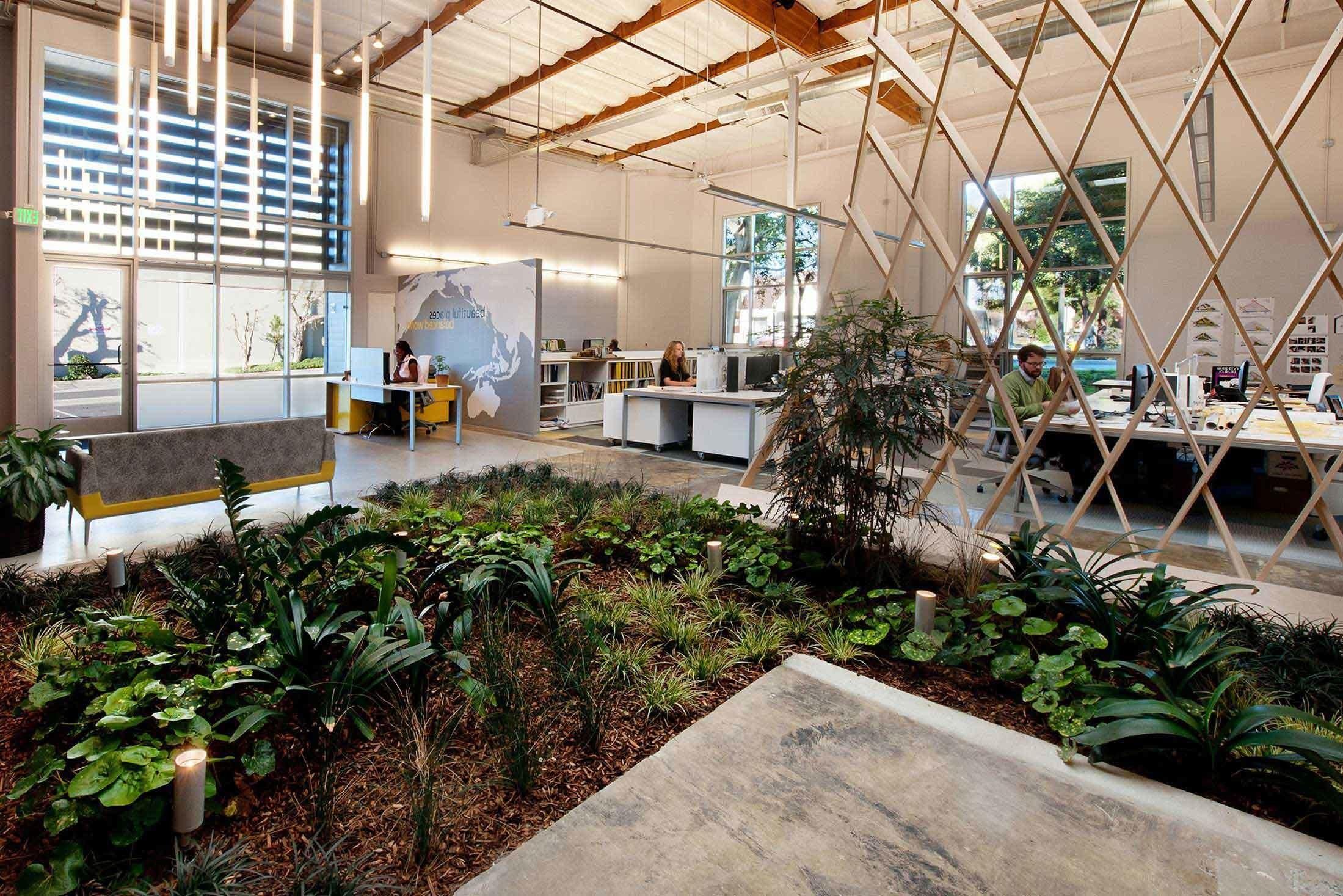Best Indoor Garden Design Office