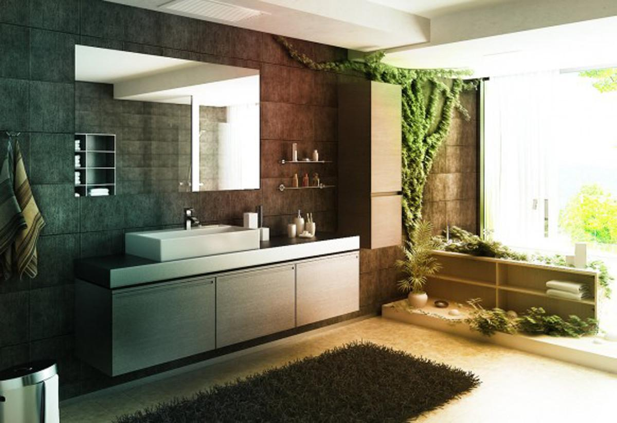 Best Inspiring Green Bathroom Designs Iroonie