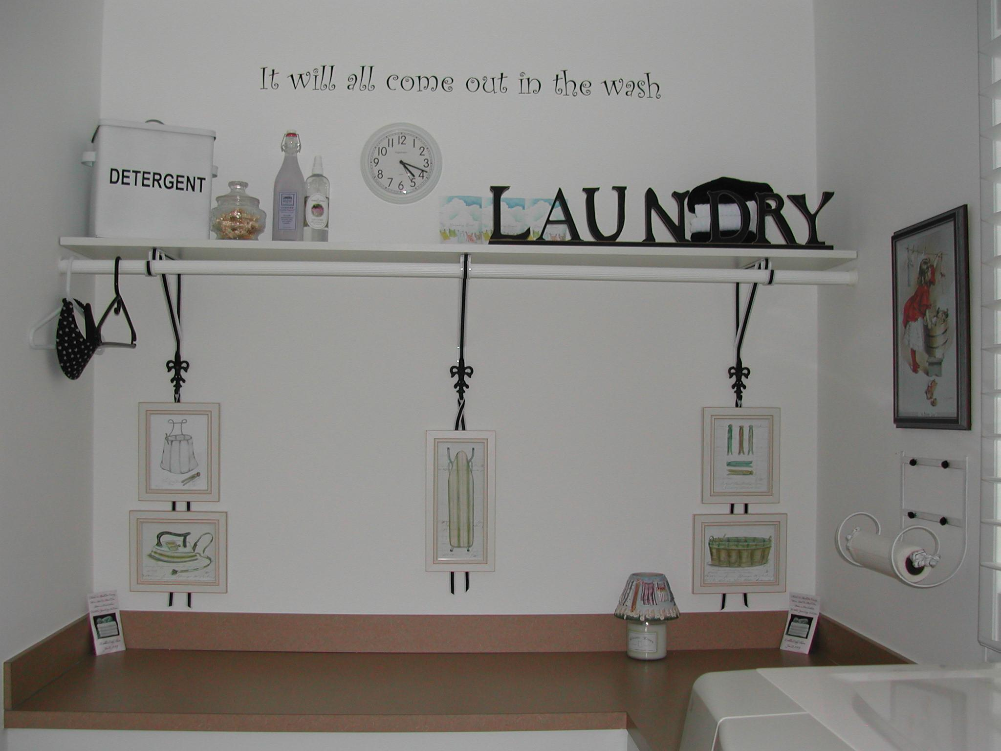 Best Laundry Room Wall Lettering Decors