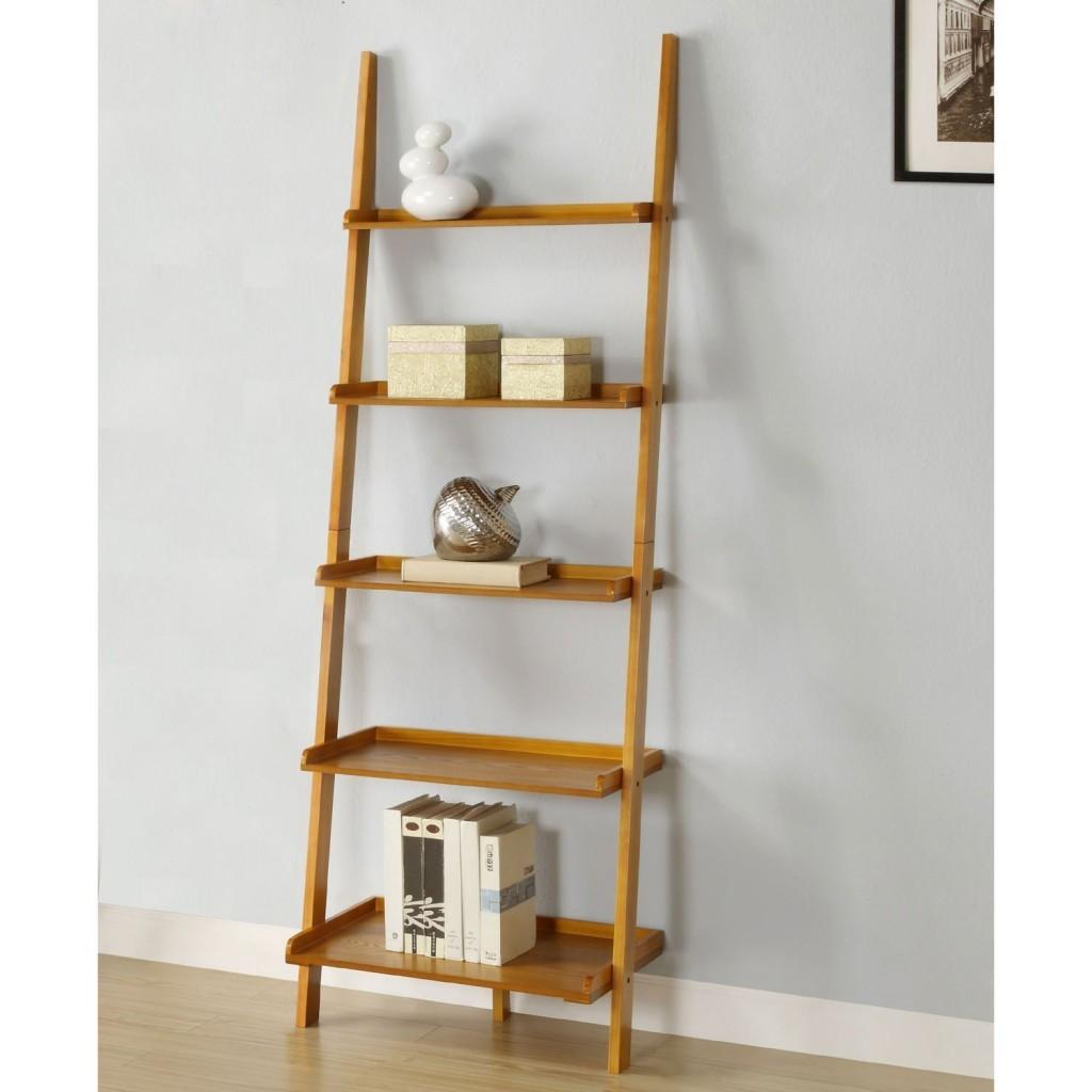 Best Leaning Ladder Bookshelf Bookcase Collection