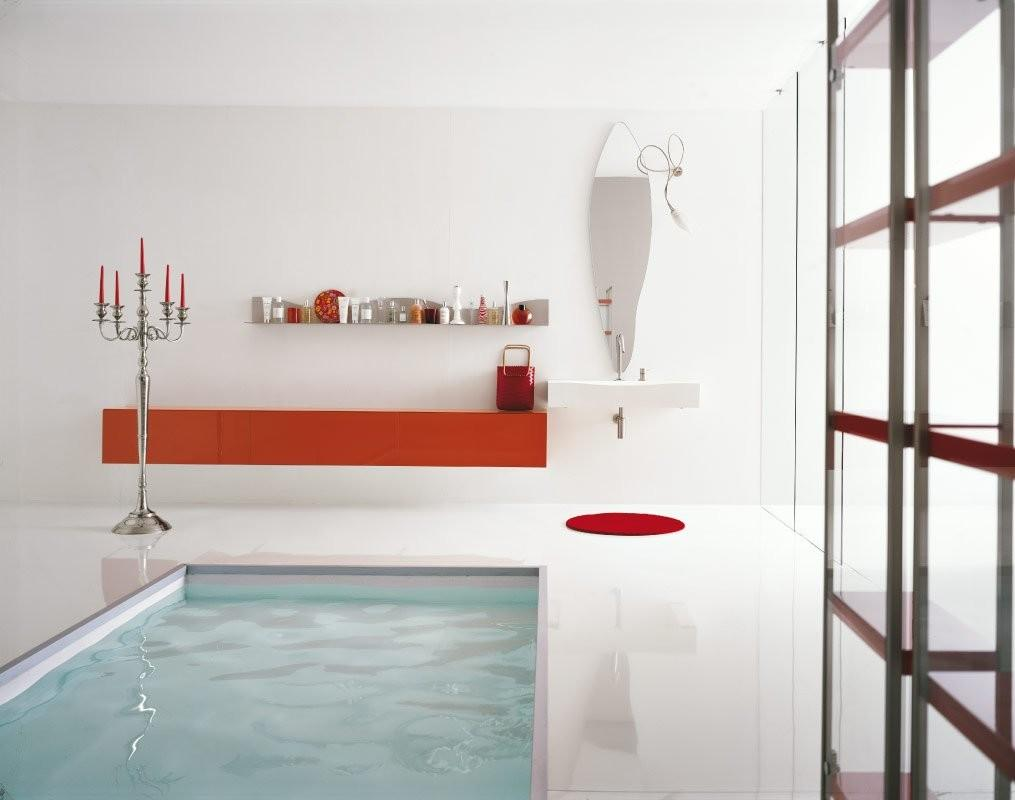 Best Modern Minimalist White Bathroom Interior