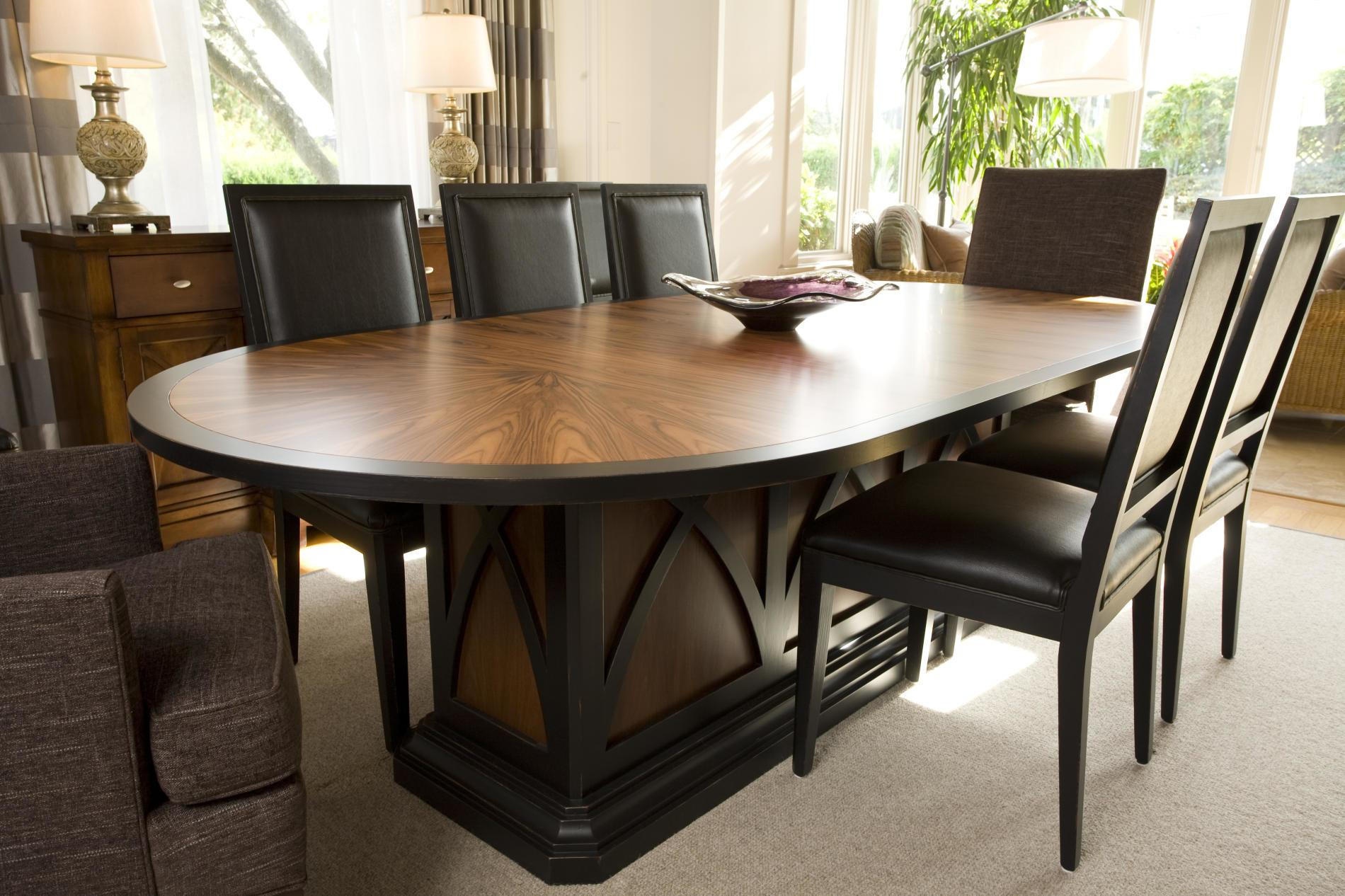 Best Modern Oval Dining Table Extend One